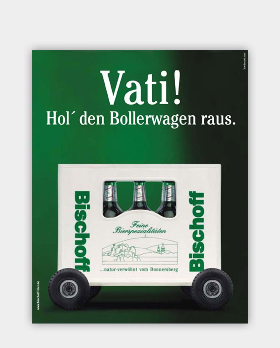 privatbrauerrei bischoff plakat gestaltung clp mobil 02