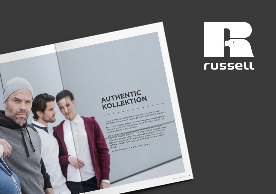 Russell Europe – Print Kampagnen '19