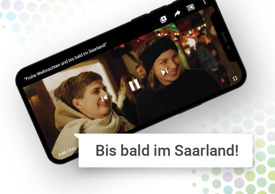 Ein Weihnachtsfilm geht durch Social Media