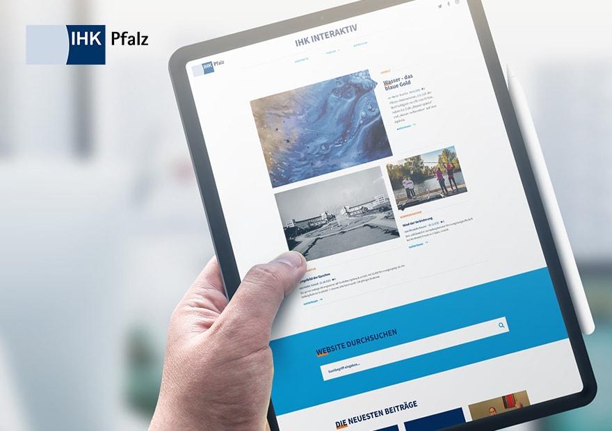 Das digitale Magazin für Unternehmen der Pfalz